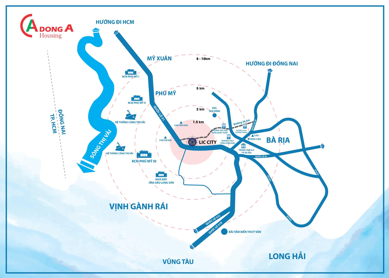 Quy hoạch khu đô thị mới thị xã Phú Mỹ Bà Rịa - Vũng Tàu