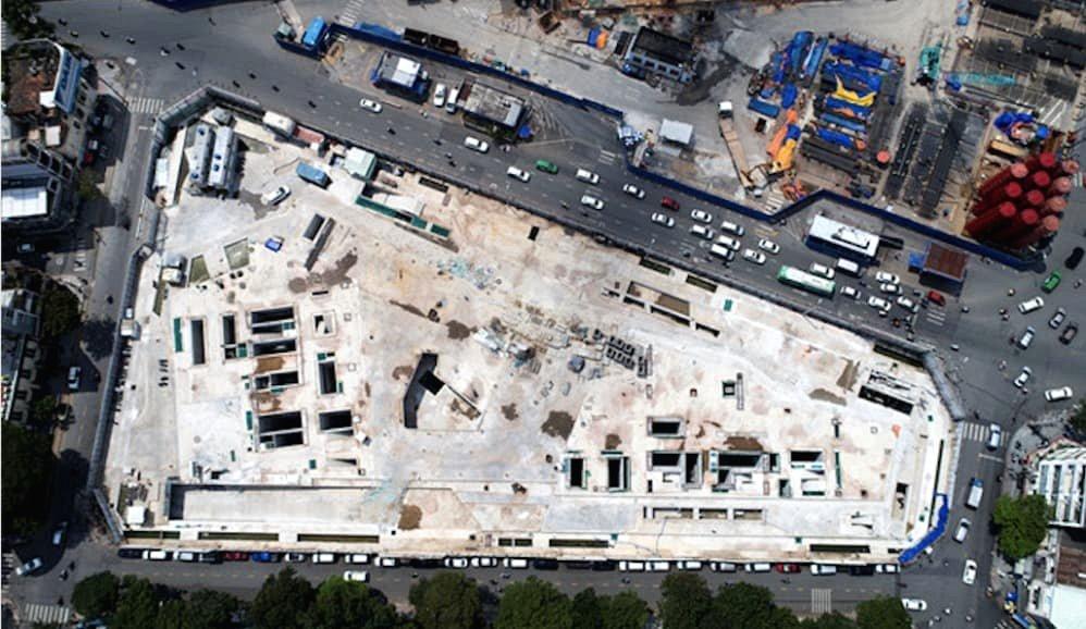 Siêu dự án bất động trước chợ Bến Thành sắp 'hồi sinh' sau nhiều năm