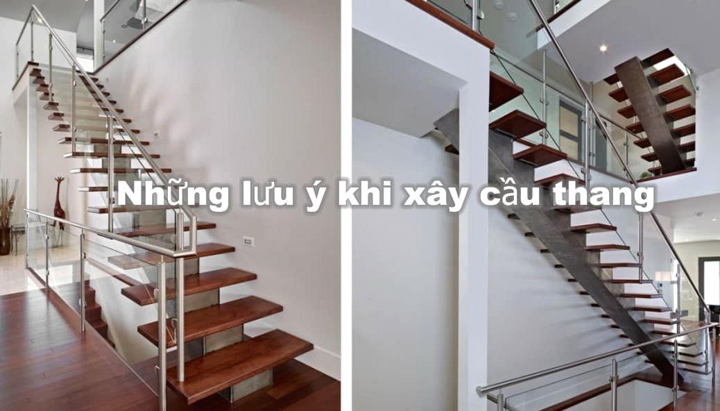 Cách xây cầu thang theo phong thủy