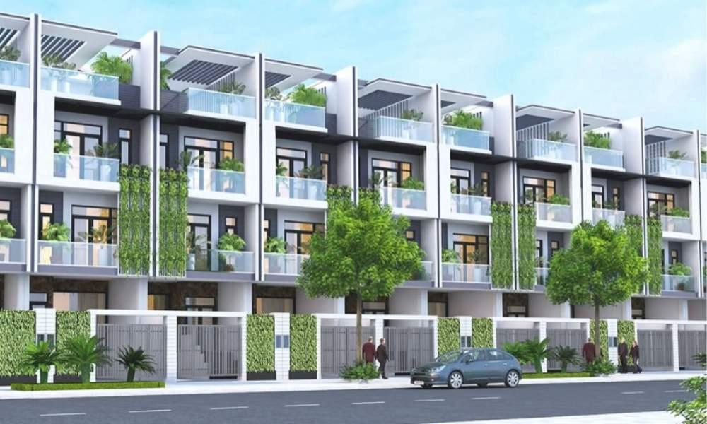Thiết kế nhà phố dự án Long Hải Riverside City