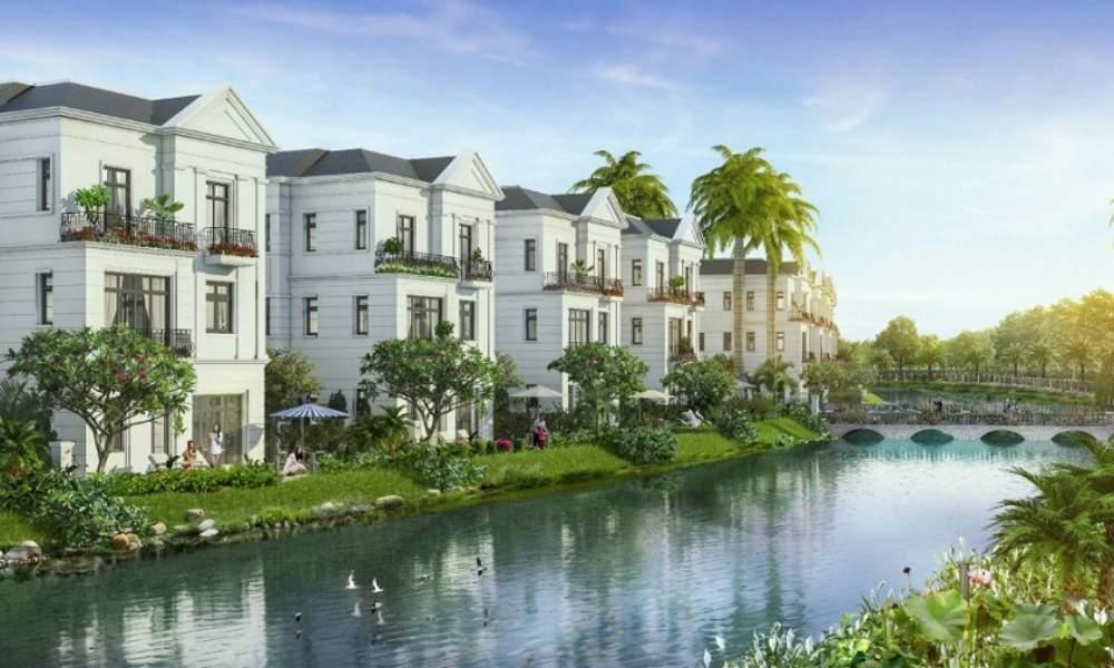 Thiết kế biệt thự ven sông dự án Long Hải Riverside City